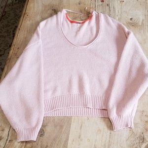 Oversize  sweater dolman sleeves free people